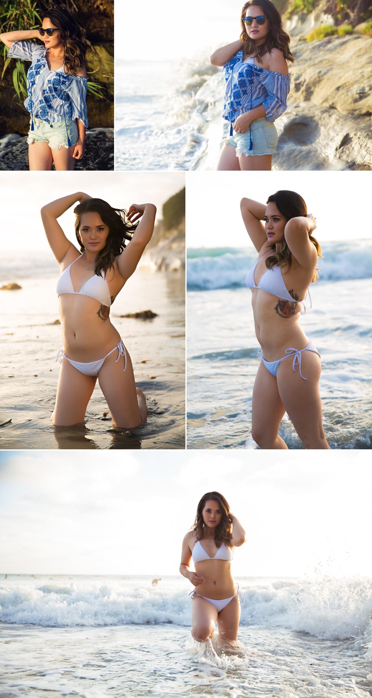 Sexy beach Portraits San Diego